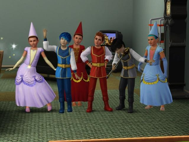 Prince and Princesses