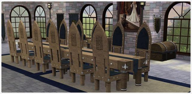full interior castle set